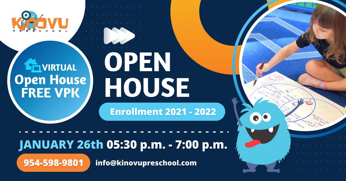 Discover in this virtual Open House how the VESS international Model has High literacy standards to enhances children´s pre-reading, pre-math, language, and social skills. The VPK program in Kinovu Preschool promotes creative thinkers building a culture of thinking in a happy and safe environment. We´ll talk about: -What is a VPK program, and what does it offer? -Who is eligible for the VPK program? -Types of VPK program -Edu1st.Preschools VPK programs -How to obtain a VPK certificate -How is the VPK program in Kinovu Preschool -What makes us different and more!!! Reserve your spot for this virtual Open House here: